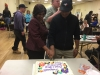 Priya and Percy cut their cake